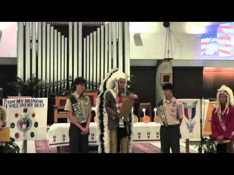 Eagle Scout Court of Honor Part 1 Troop 706