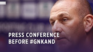 Press conference before #GNKAND