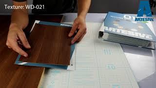 Artesive WD-021 Middle Walnut - Texture Model of Self-adhesive Film