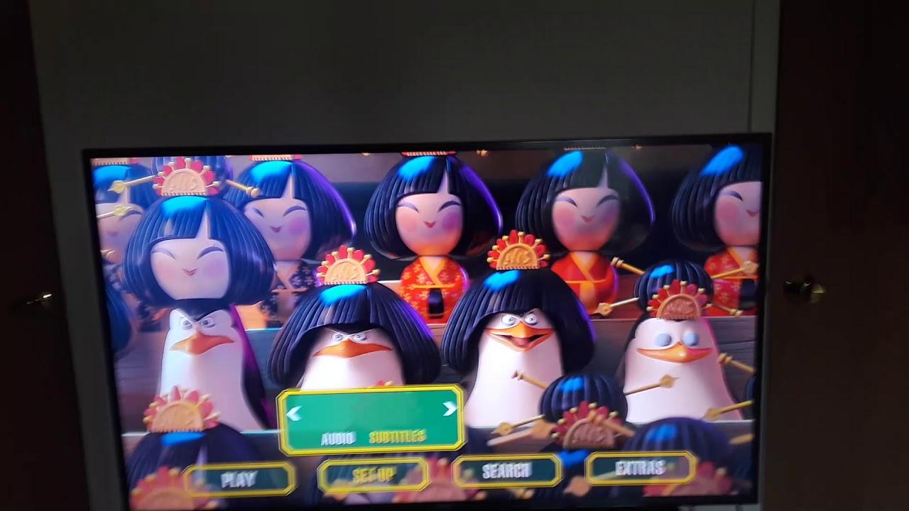 Download Penguins of Madagascar 2015 Blu-ray Menu Walkthrough