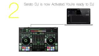 "Roland DJ-808 DJ Controller ""How to Activate"""