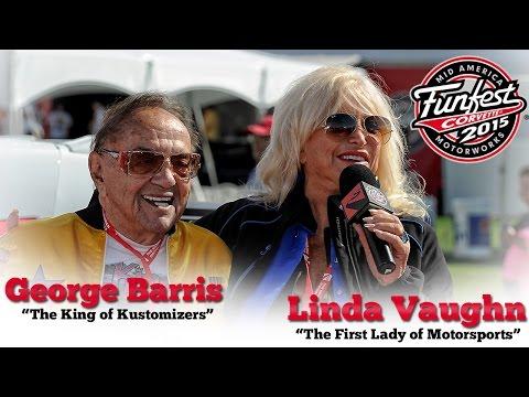 George Barris and Linda Vaughn Talk Cars at Corvette Funfest 2015