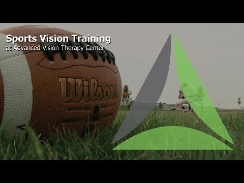 Sports Vision Training at Advanced Vision Therapy Center