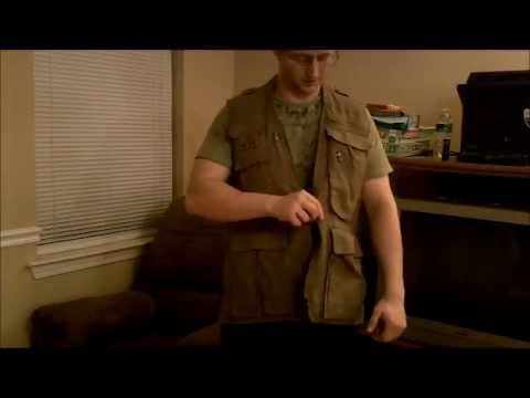 Humvee Safari Photo Vest Review Youtube