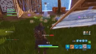 One of my best no scope clip in Fortnite Battle Royal with a bolt action sniper rifle