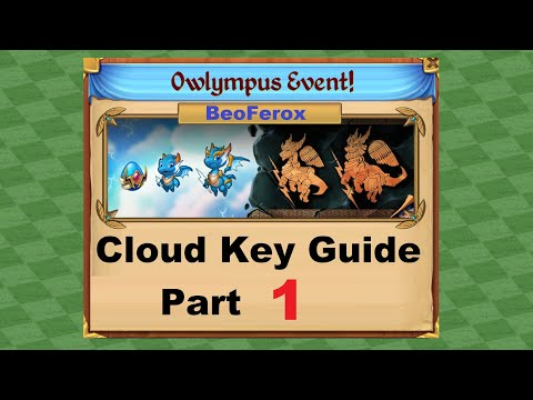 Merge Dragons! Owlympus Event! Cloud Key Guide1
