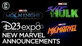 Marvel Announces Moon Knight, She Hulk, & Ms. Marvel for Disney +