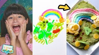 Download Can These Chefs Turn A Leprechaun Drawing Into A Real Dish? • Tasty Mp3 and Videos