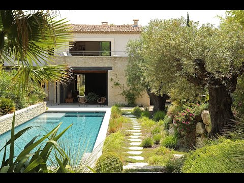 "WATCH NOW this South of France luxury villa rental ""Villa Cachée"""