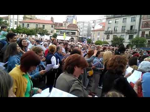A terceira edición de 'Aquí cántase' enche Pontevedra de música