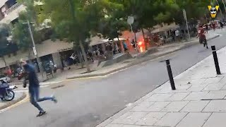 PSV supporters aangevallen in Barcelona