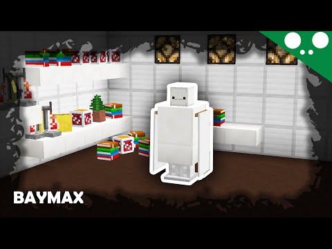 (☞ ͡° ͜ʖ ͡°)☞ Minecraft l How to make Baymax! (Big Hero 6)