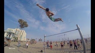Michael Peres   Training at Santa Monica Beach - 07/10/17
