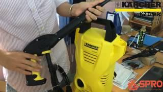 Máy xịt rửa xe gia đình Karcher K2 Basic (full bộ) và hướng dẫn sử dụng