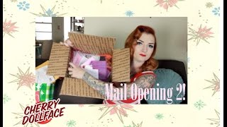 Mail Opening Part 2 with CHERRY DOLLFACE Thumbnail