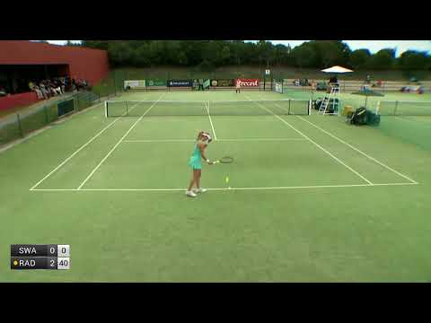Swan Katie v Radwanska Urszula - 2018 ITF Obidos