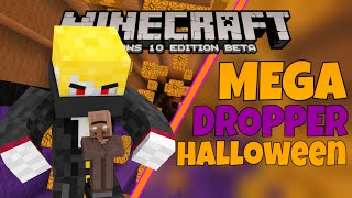 [MCPE] - MEGA DROPPER HALLOWEEN - Map Gameplay