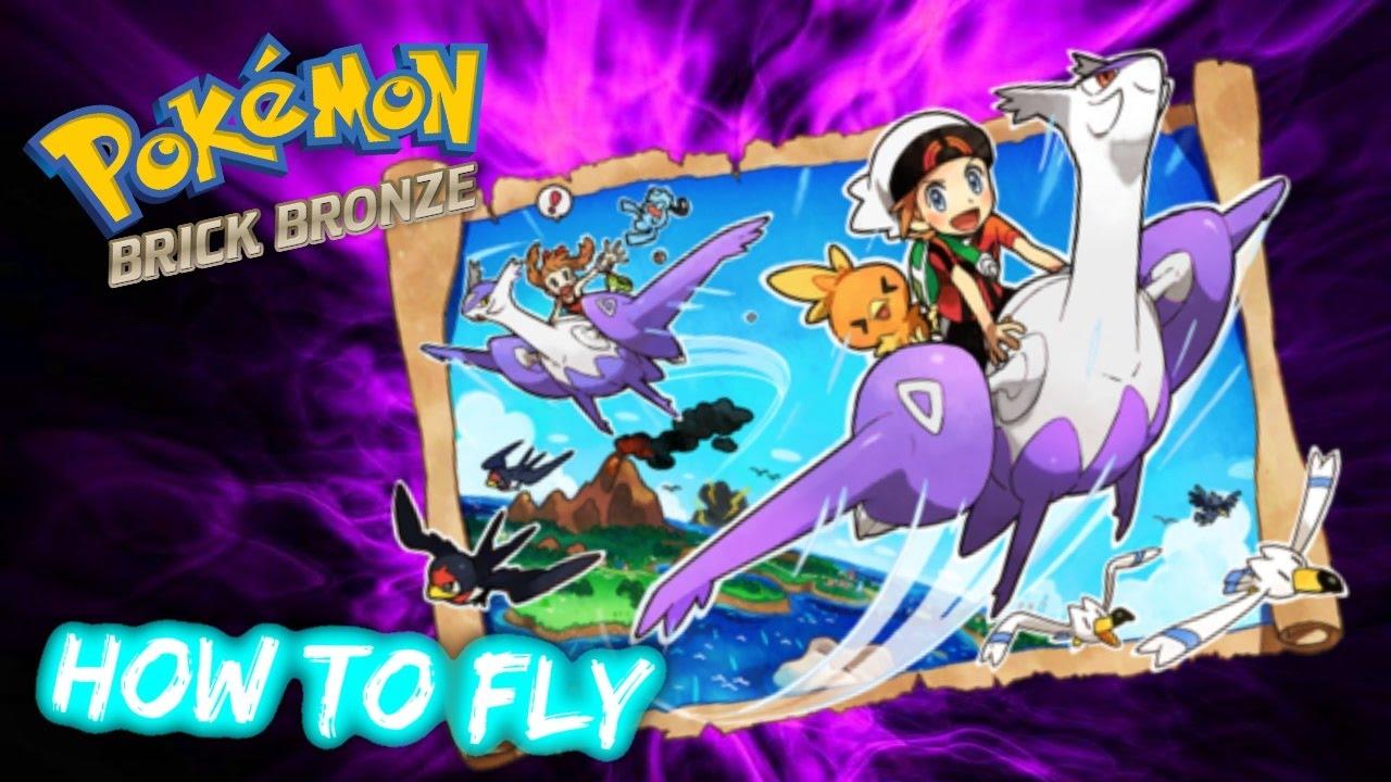 Roblox Pokemon Brick Bronze Fly Roblox Pokemon Brick Bronze Extras How To Fly Youtube