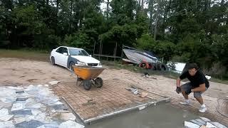 Бизнес идея укладка гранита во дворе