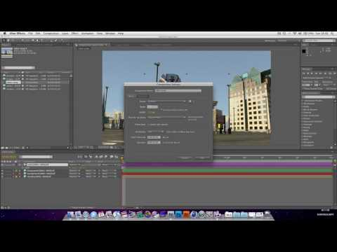 After Effects Tutorial : Basic Compositing