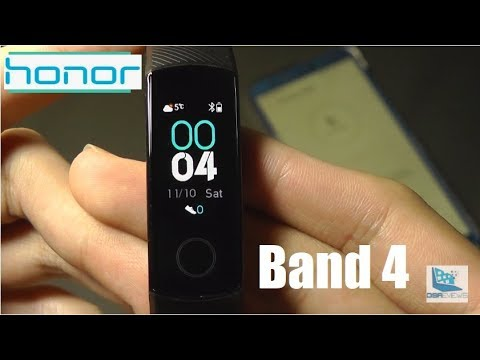 Unboxing: Huawei Honor Band 4 - Color Fitness Tracker!