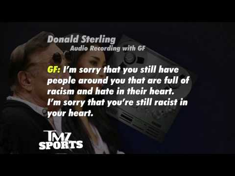 Clippers Owner Donald Sterling to GF - Don't Bring Black People to My Games, Including Magic Johnson