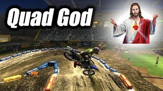 125 Quad God!!! Rut Tester 20 Laps - MX vs. ATV Reflex