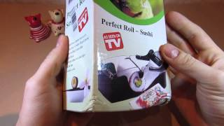 Розпакування посилки з Китаю №11 Sushi maker! Гаджет для закрутки ролів!