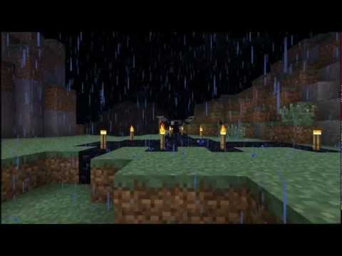 Minecraft Interactive Creation- Stormy night