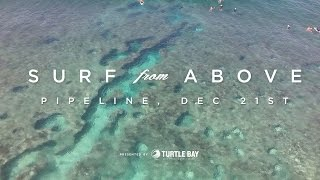 Surf From Above | Drone Footage of Pipeline