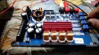 Modulo Soundigital SD400.4D - Led Pisca aumentando o volume