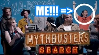 Will I Become a Mythbuster?? New Mythbusters Reaction!!!