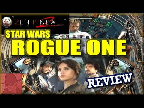 Star Wars - Rogue One : Zen Pinball 2 - PS4 - with Commentary !!