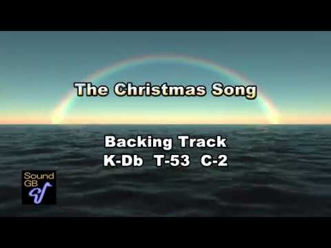 The Christmas Song - Backing Track ( in Eb = As , Bs )