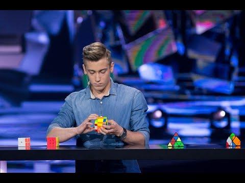 Michał Rzewuski - Wirtuoz kostki Rubika - The Brain. Genialny Umysł