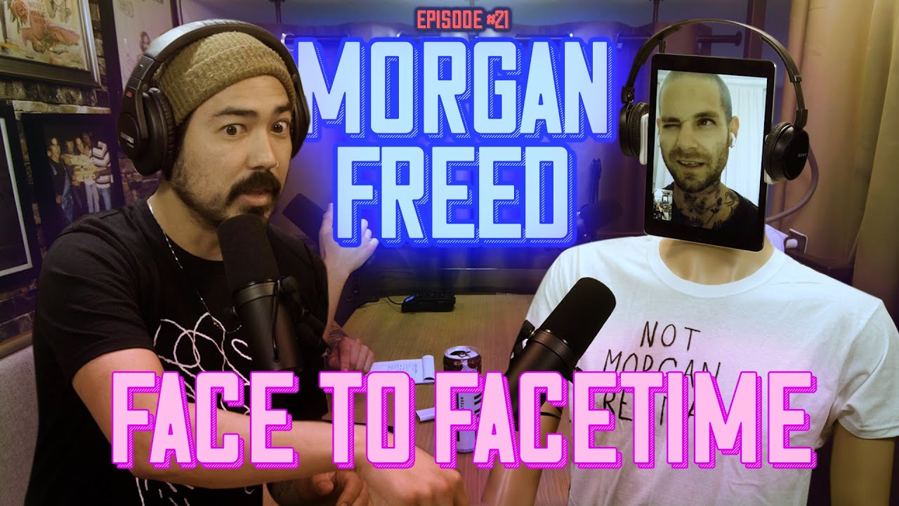 Face to Facetime - Morgan Freed (Scientologists live in Morgan's house)