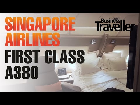 Singapore Airlines First Class, A380 London to Singapore - Business Traveller