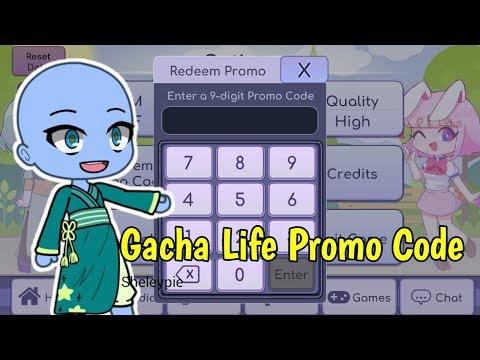 Gacha Life Redeem Promo Code   Sheleypie