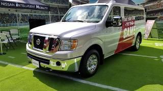 Nissan 12 Passenger NV Van Review