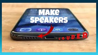 Make your iPhone LOUDER!