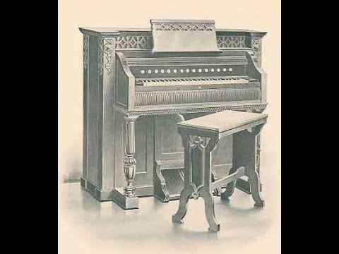 1908 Estey Reed organ stop-by-stop Demo