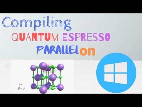 Installing Quantum ESPRESSO on Windows in Parallel [TUTORIAL