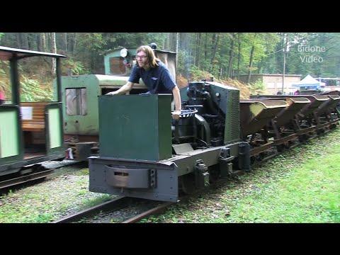 Feldbahn-Museum Herrenleite -1/2- die Züge - Light Railway Trains