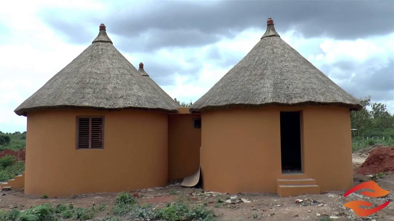 Plan D Une Case Africaine construction traditionnelle du centre shammesh