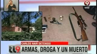 Moreno: Carlos Nair detenido