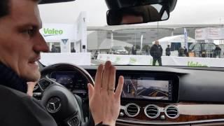 Valeo self driving car technology - CES 2017