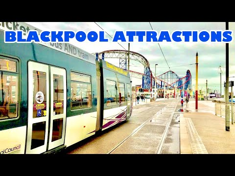 Blackpool Attractions Vlog 10th March 2018