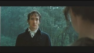 "Pride & Prejudice: ""I love you...most ardently."""