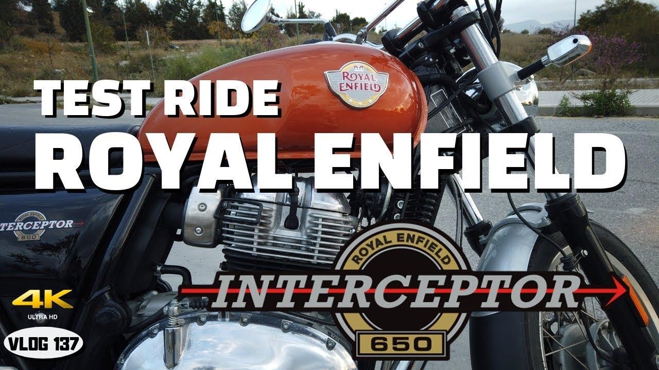 Royal Enfield Interceptor 650 2019 A2 Test Ride Vlog137 4k