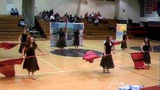 Shikellamy Color Guard indoor show 2010